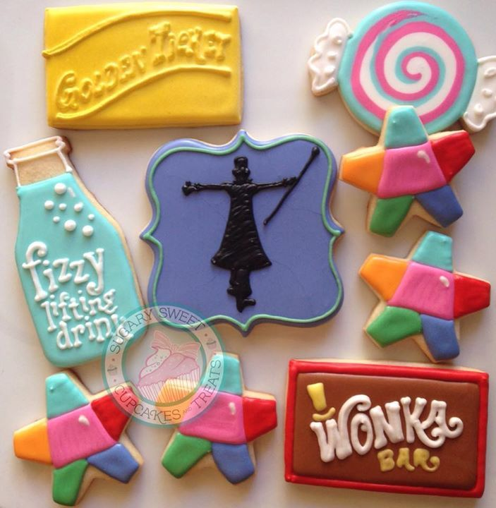 Charlie and the Chocolate Factory cookies