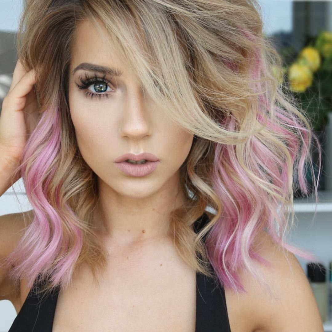 Arctic Locks From Arctic Fox Hair Color Krystalclearmakeup The Color Without The Commitment It S Been Colored Hair Tips Peekaboo Hair Cool Hair Color