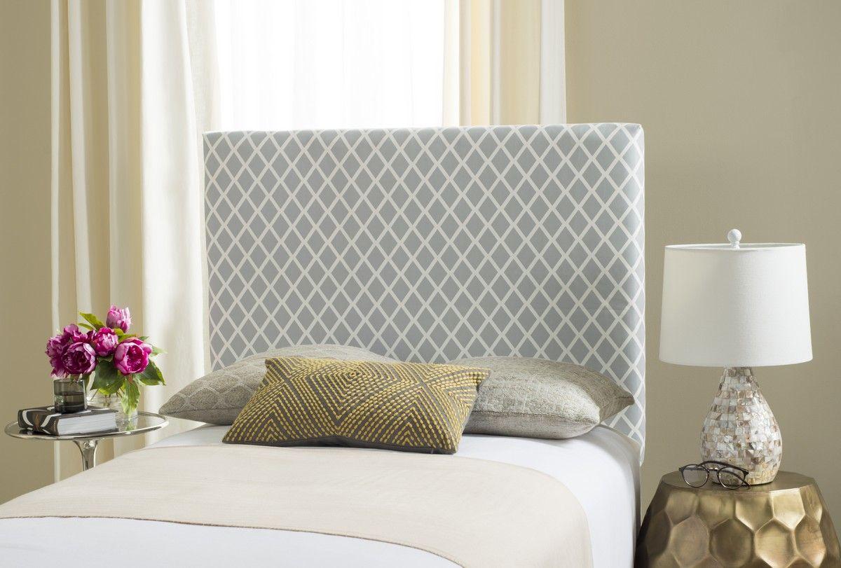 Sydney Grey White Lattice Headboard Headboards Furniture By Coastal Bedroom Furniture Beach Bedroom Furniture Rustic Bedroom Design
