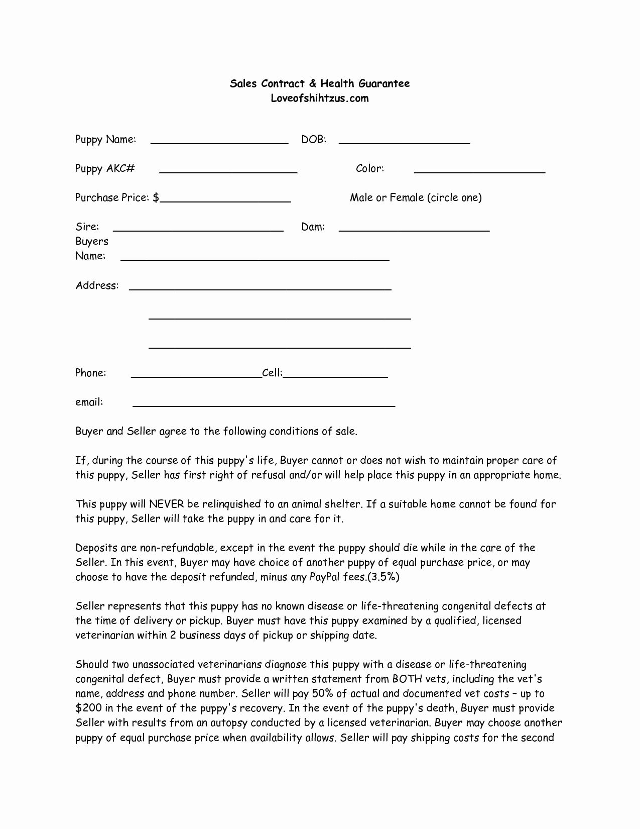 Dog Training Contract Template In 2020 Whelping Puppies