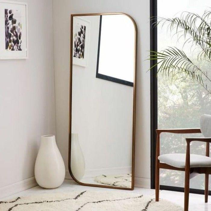 impressionnant grand miroir dor pas cher d coration