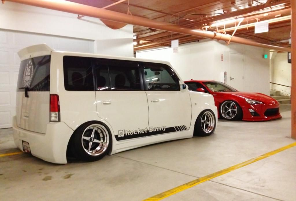 Rocket Bunny Kit With Lover Soul Rear Wing Toyota Scion Xb Scion Xb Custom Cars