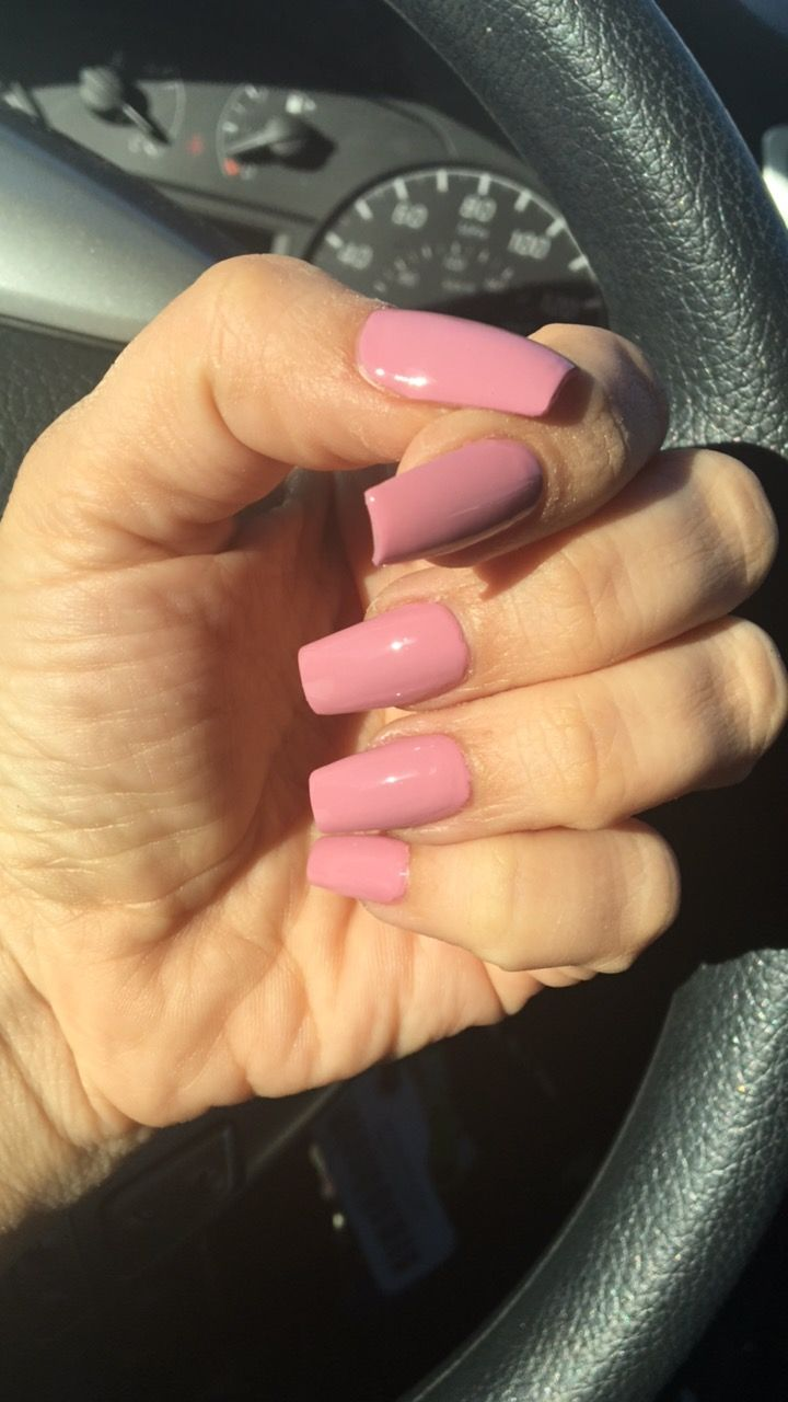 New nails color or rock and rose | Cute short nails | Pinterest ...