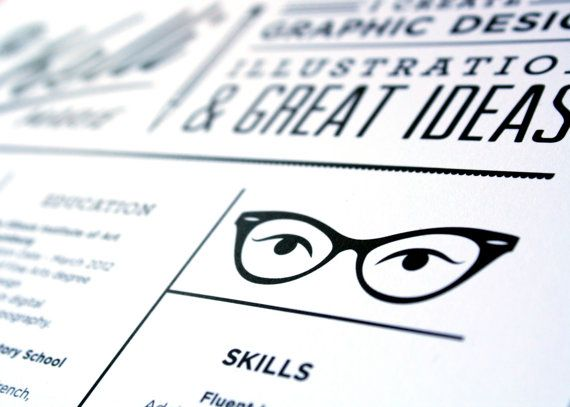 4 proven resume tips infographics other unexpected formats to wow creative directors