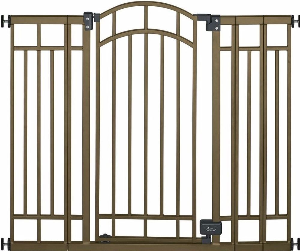 Contemporary 36 In. SwingClosed Child Safety Gate Stylish