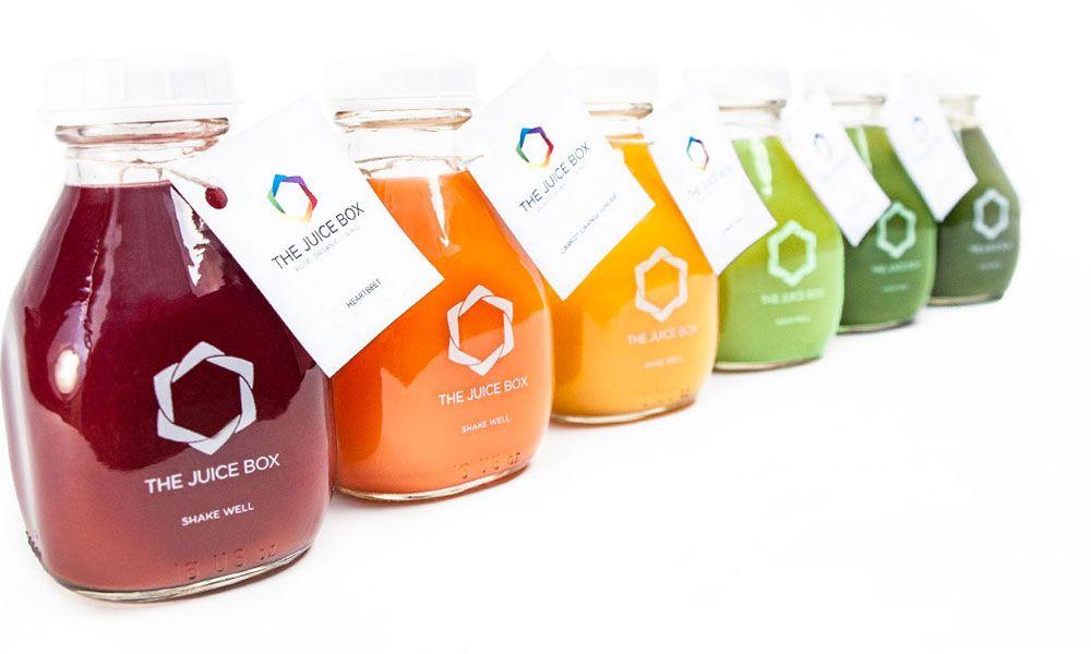 The Juice Box Delicious Organic Cold Pressed Juice