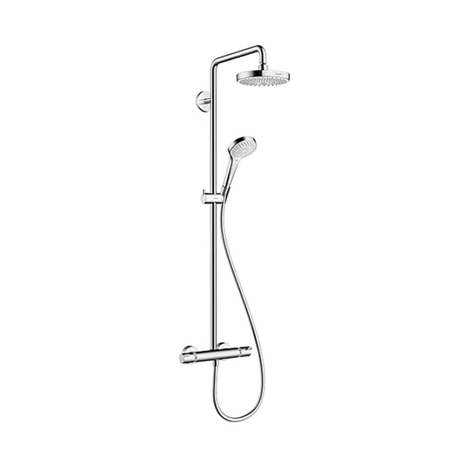 Up Duscharmatur Takduschset Hansgrohe Croma Select S 180 Showerpipe 2jet