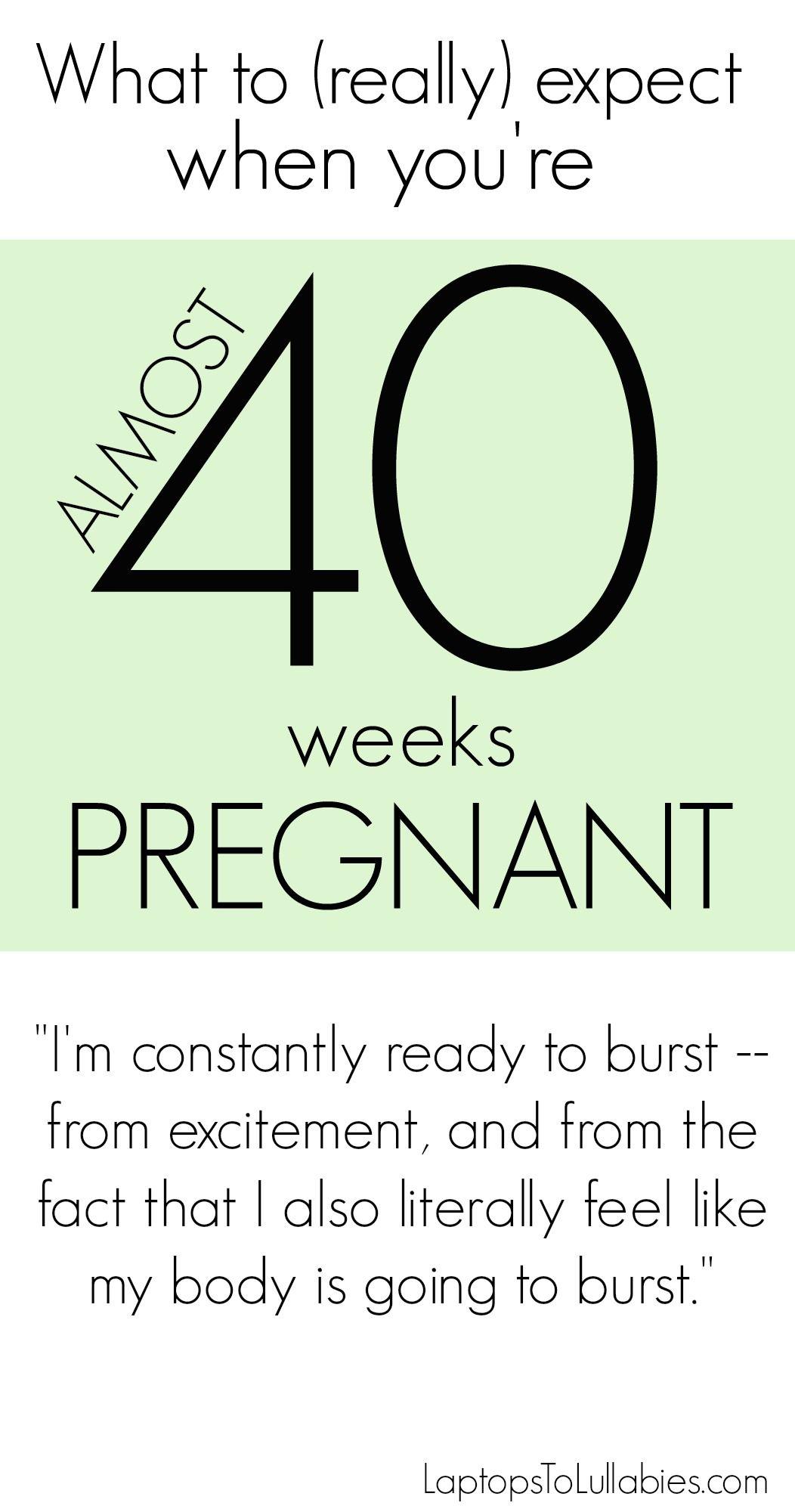 40 week pregnancy sweepstake