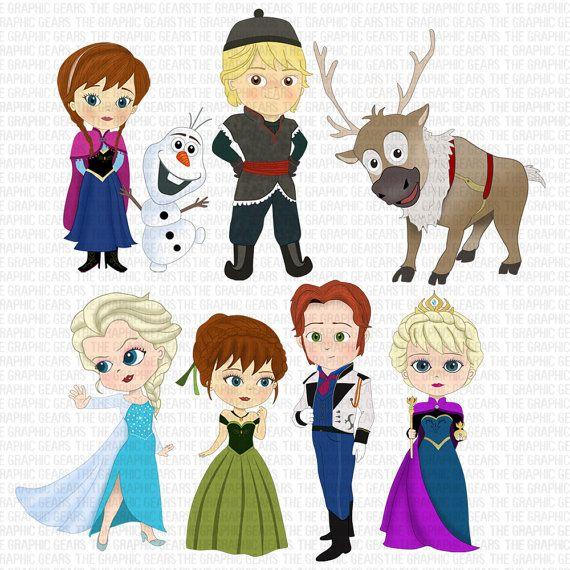 Frozen Cliparts - Young Elsa Anna And Olaf, HD Png Download , Transparent  Png Image - PNGitem