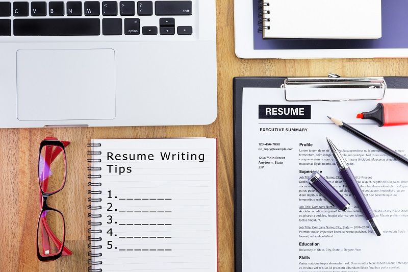 Resume and CV Writing