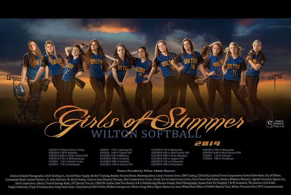 Sports Teams Banners Posters Gallery Team Photography Studio