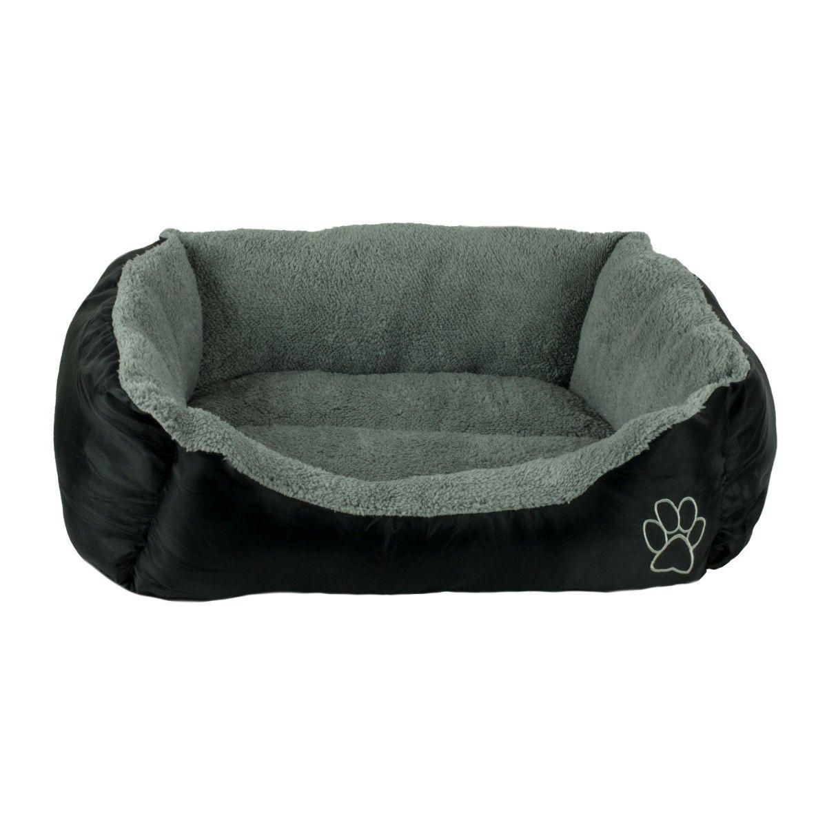 Beatrice Medium Dog Pet Bed Rectangle Plush Cuddler 21 X 25 X 10 Black Pet Supplies Dog Pet Beds Pet Bed Pet Beds