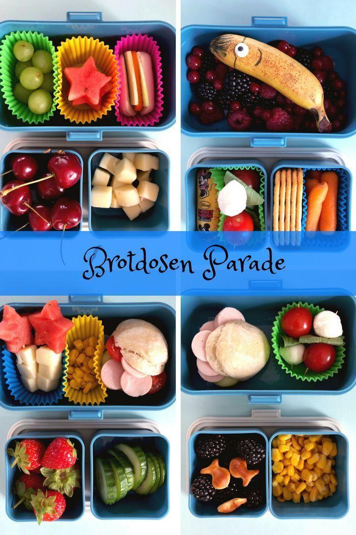 Ideen für die Lunchbox #brotdose #lunchbox #lunchboxideas