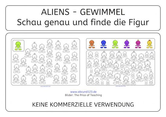 alien gewimmel aufmerksamkeit wahrnehmung download legasthenie legasthenietraining afs. Black Bedroom Furniture Sets. Home Design Ideas