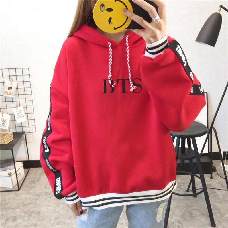 b47cf8fb9 Red Kpop BTS Warm Pullover Hoodie bts hoodie, bts jacket, bts clothes, bts  sweater, hoody kpop, bangtan boys hoodie, J-Hope hoodie, Jimin hoodie, Jin  hoodie ...
