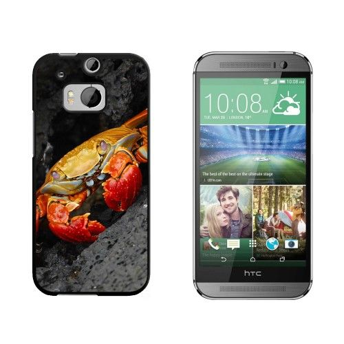 Red Crab HTC One M8 Case
