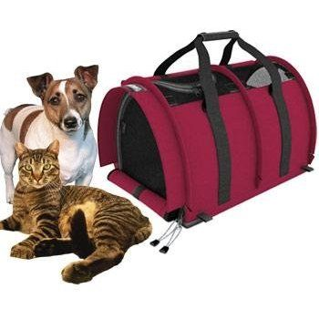 a6040150e2 Amazon.com : Sturdi Products StrudiBag Double Sided Divided Pet Carrier,  Large, Earthy Tan : Pet Supplies