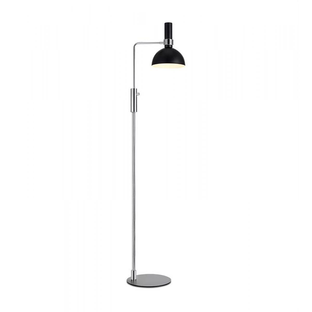 Lampa Podlogowa Markslojd Larry 1l E27 Chrom Czarny With Images Lampa Podlogowa Lampy Czarny
