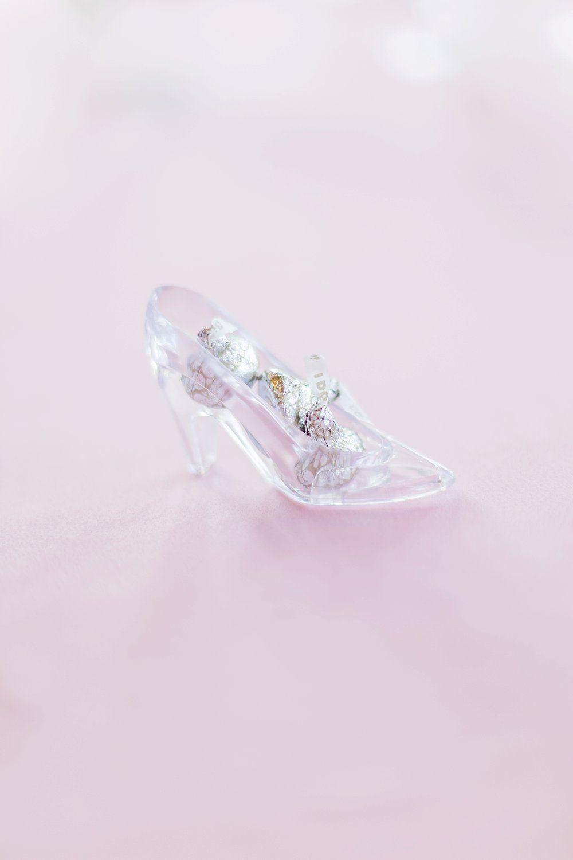 Disney Fairytale Wedding Centerpieces and Favors - Cinderella Glass ...