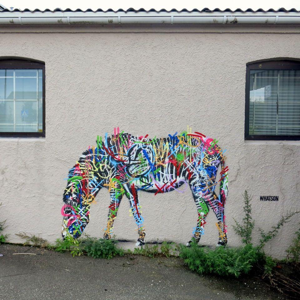 Martin Whatson New Murals For Nuart 13 In Stavanger Norway Street Art Street Art Graffiti Sidewalk Art