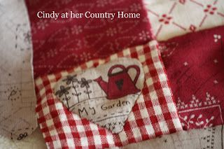 """Cindy at her Country Home: """"Finally, the lovely warm spring days…"""""""