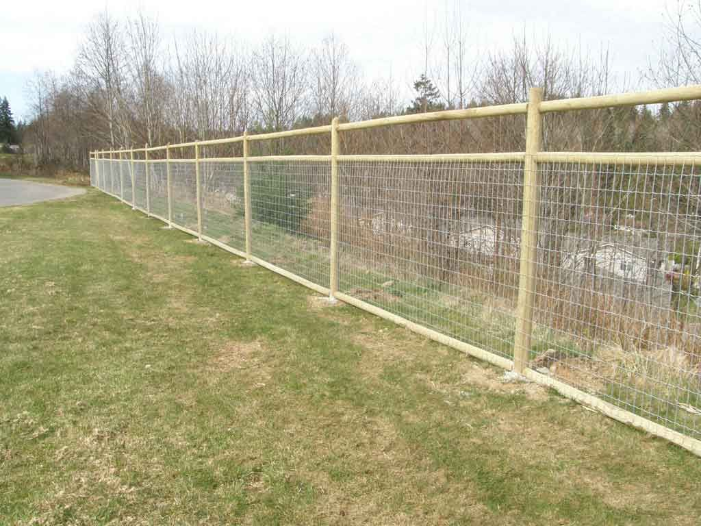 Wood fence designs true line fencing fencing types for Types of fences