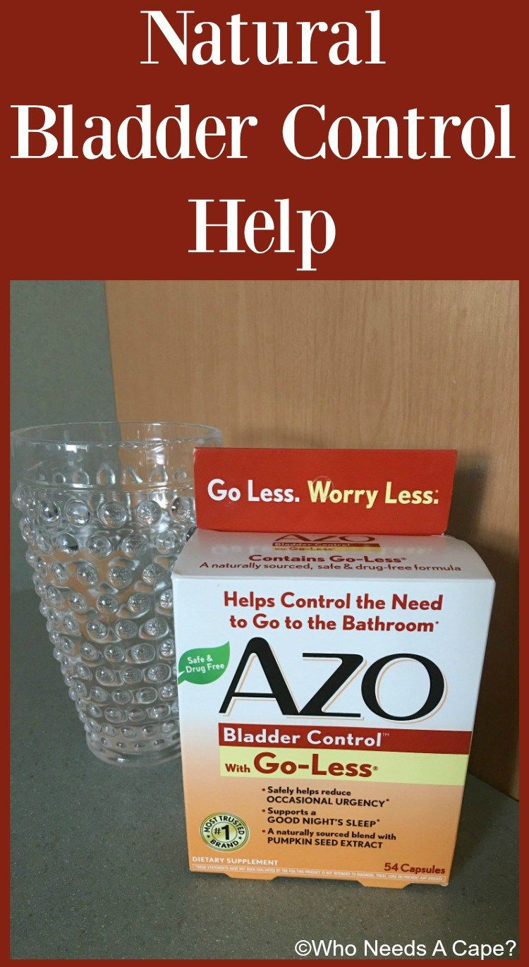 Azo Bladder Control >> Try Azo Bladder Control With Go Less For Natural Bladder Control