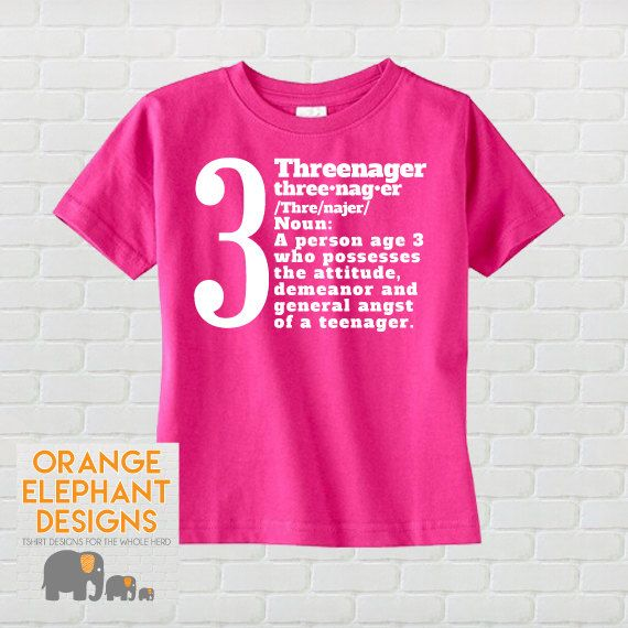3rd Birthday Gifts Presents for 3 Year Old Boys Girls 3 Aged Perfection T Shirt