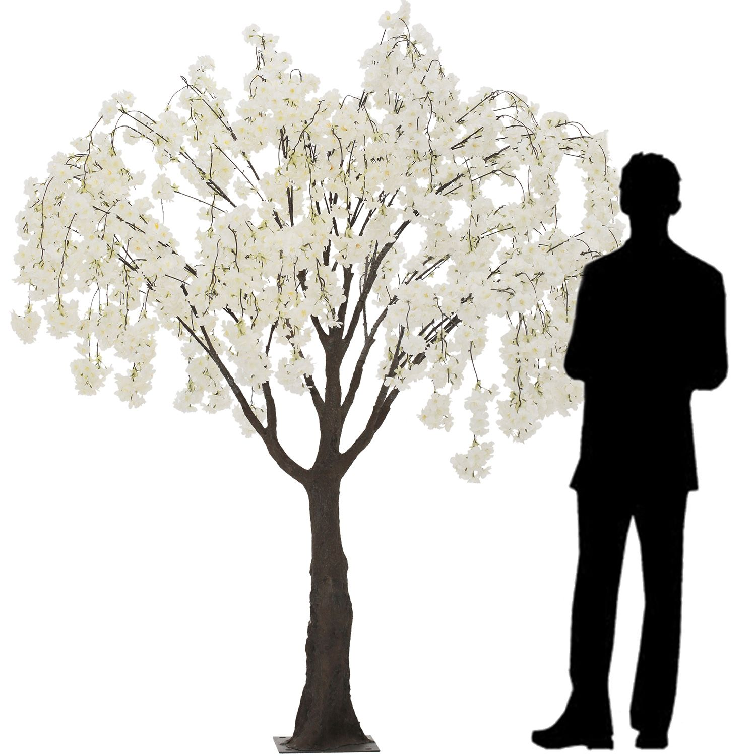 6ft Drooping Cherry Blossom Tree Floor Or Grand Centerpiece 10 Interchangeable Branches White Wedding Tree Decorations Blossom Trees Cherry Blossom Tree