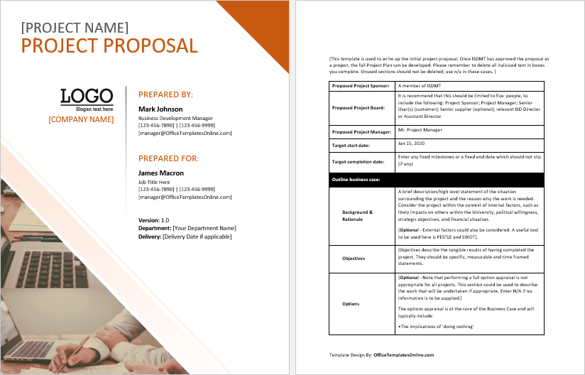 Customizable Ms Word Proposal Templates Office Templates Inside Free Business P In 2021 Free Business Proposal Template Business Proposal Template Proposal Templates - ms word proposal template