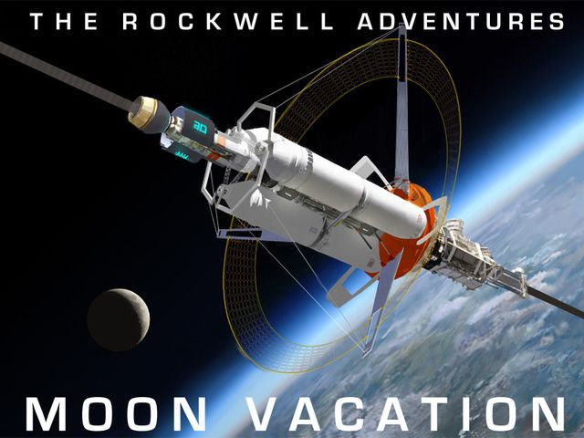 Moon Vacation is a fun STEM-focused, Augmented Reality enabled adventure story about a family journeying to the Moon for vacation.
