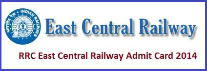 RRC, East Central Railway Group 'D' Posts Exam Call Letter, www.rrcecr.gov.in - 4655 Group-D Jobs Recruitment Application Status & Call Letter Download - Free Ejob Alerts