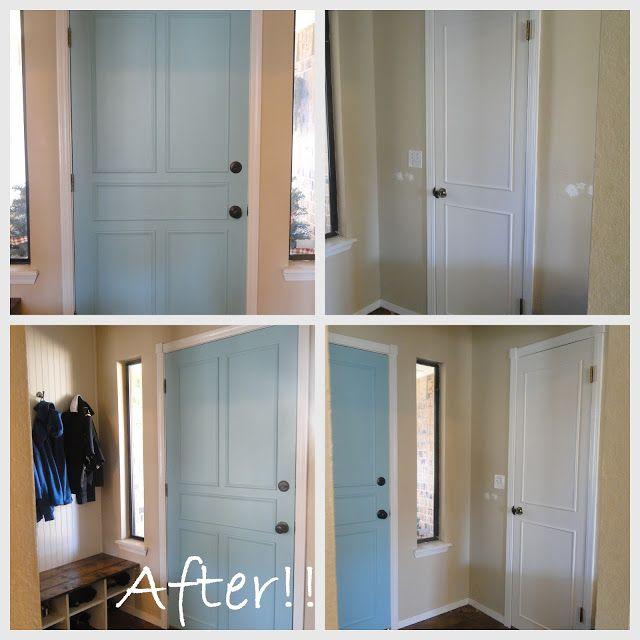 Lightening Up - Door Treatment {Part 1}
