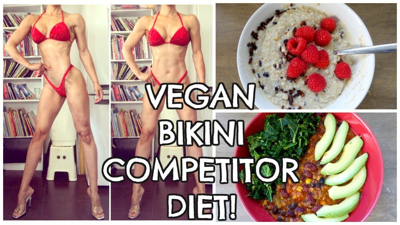 bikini competition diet 6 weeks out