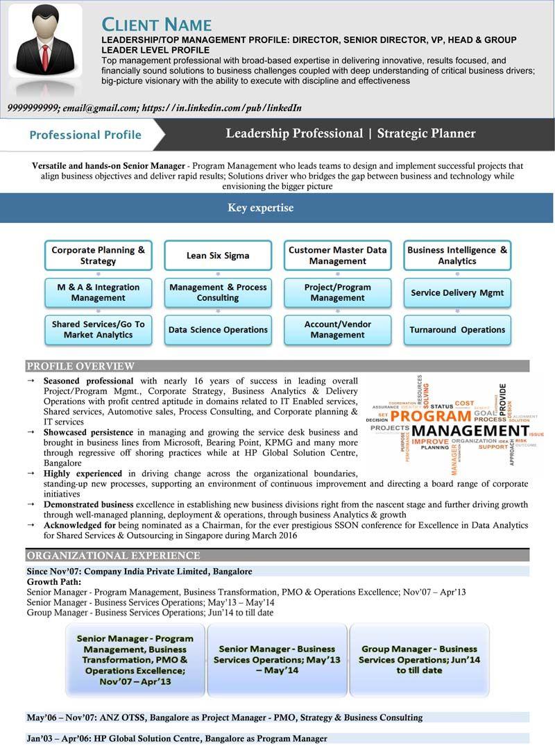 C Suite Resume Templates Resume Templates in 2020