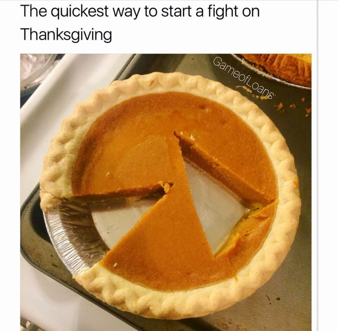 S&G Who does this?! Funny thanksgiving memes