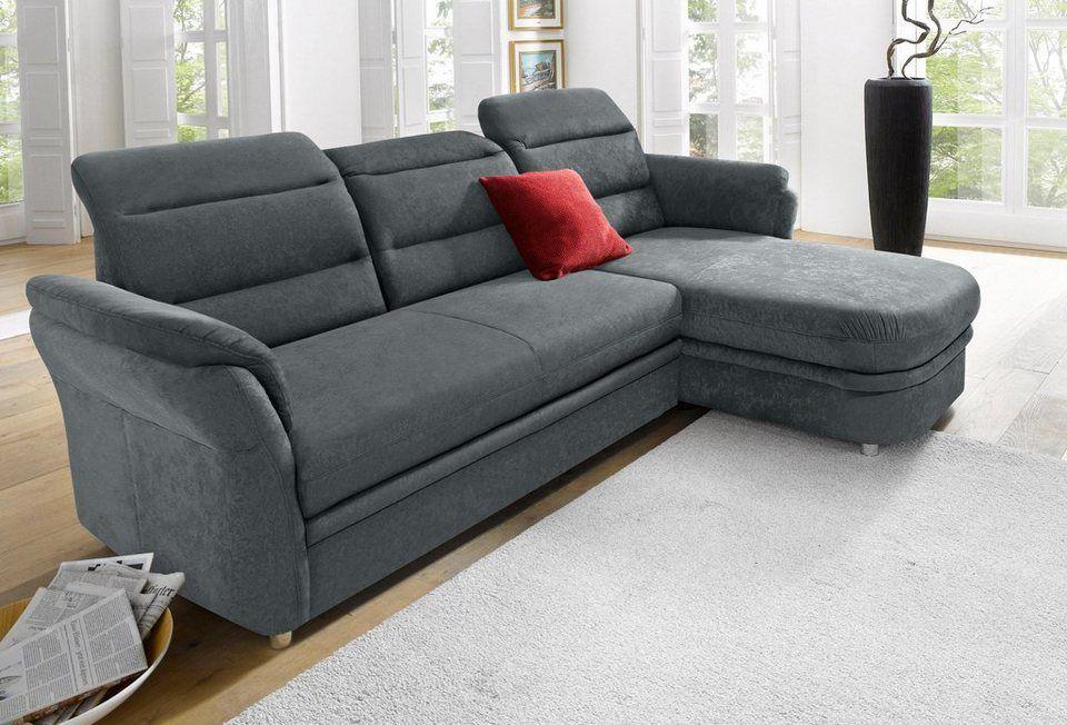 Raum Id Ecksofa Mit Recamiere Inklusive Federkern Online Kaufen Sofa Silver Sofa Furniture