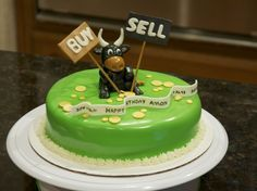 Stock Broker Cake Google Search 40th Bday Cake