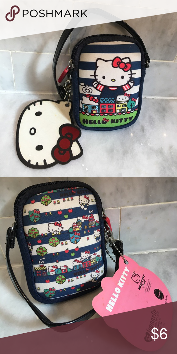 388934a19 Hello kitty wristlet Classic Hello Kitty design Hello Kitty Bags Clutches &  Wristlets