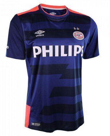 06d21f57791 PSV Jersey 2015 16 Away Purple Soccer Shirt