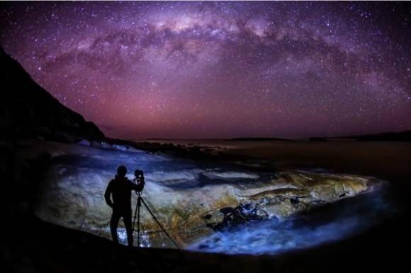 Incredible shot of the Milky Way in Australia