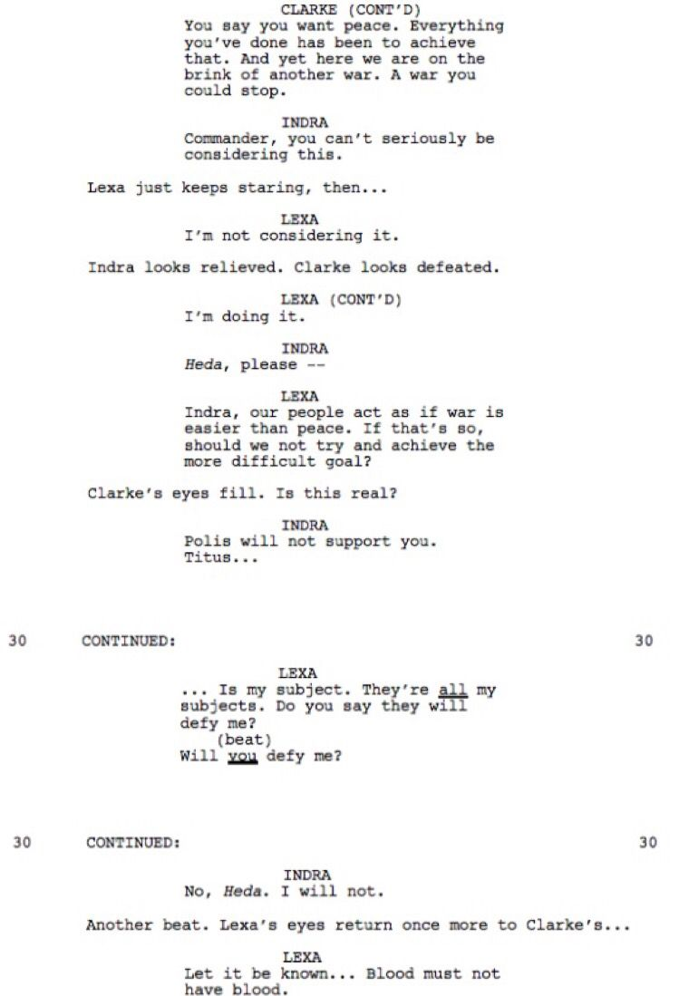 3x05 Part 1 Acting Scripts Acting Tips Movie Scripts