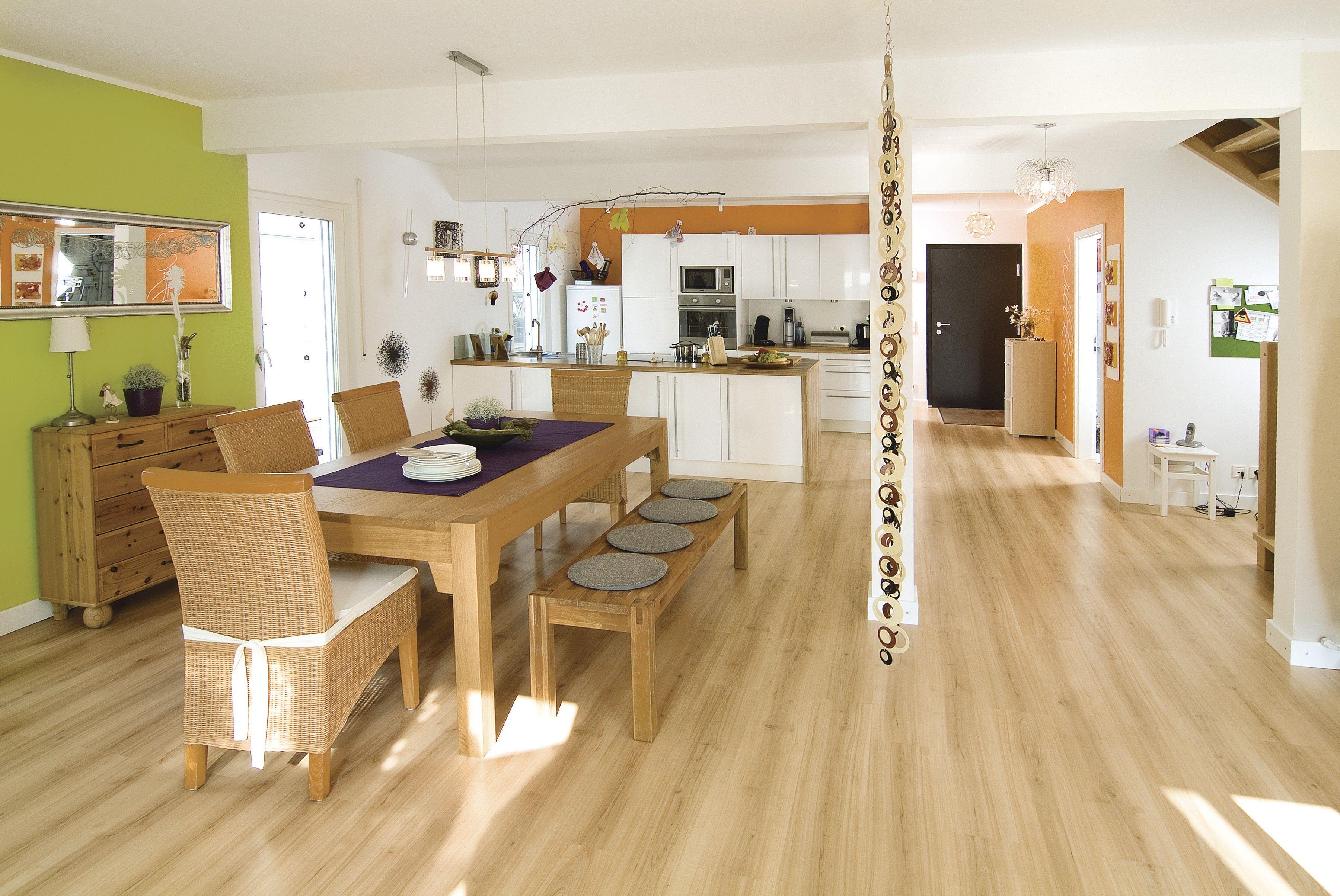Küchenideen stein weberhaus fertigbauweise fertighaus holzbauweise wohnen bauen