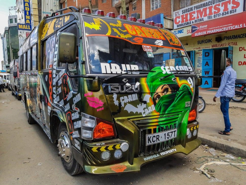 Celebrating Kenya's matatu art culture Culture