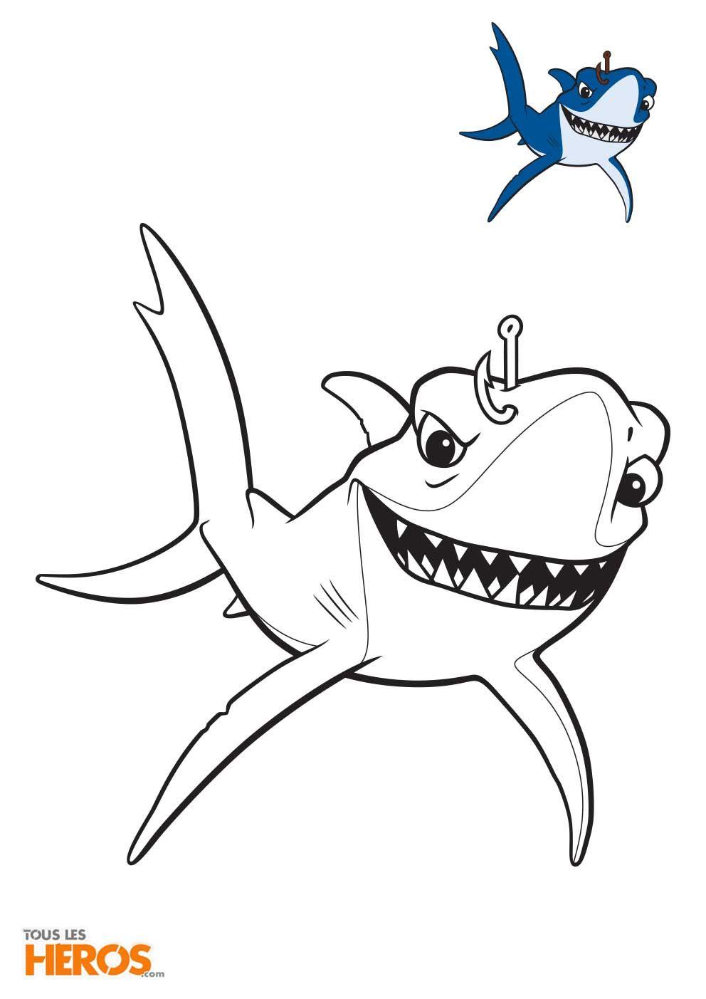 Coloriages Nemo Et Dory A Imprimer Gratuitement Sur Notre Blog