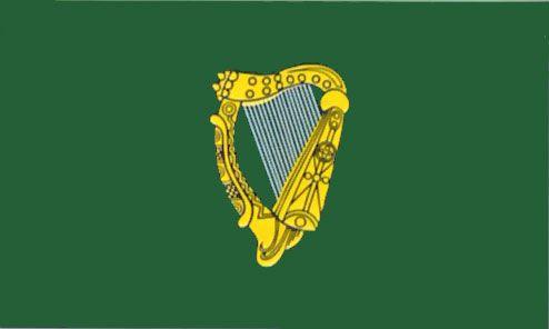 Leinster flag | Irish Harp | Harp flag | flag of Leinster