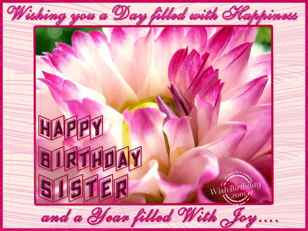 Free Happy Birthday Sister In Law Graphics Yahoo Image Search