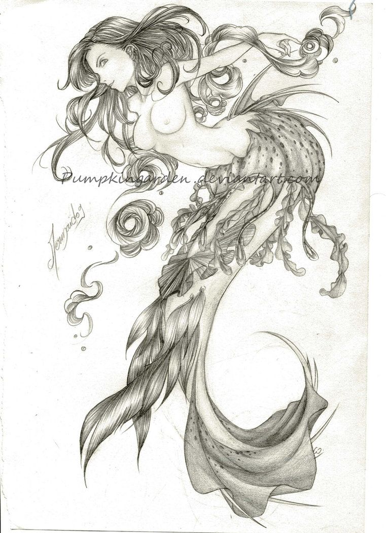 Uncategorized Drawing Of Mermaids deviant art pencil drawings of mermaids google search coloring search