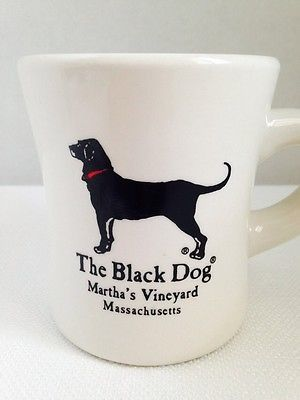 New The Black Dog Marthas Vineyard Coffee Cup Mug