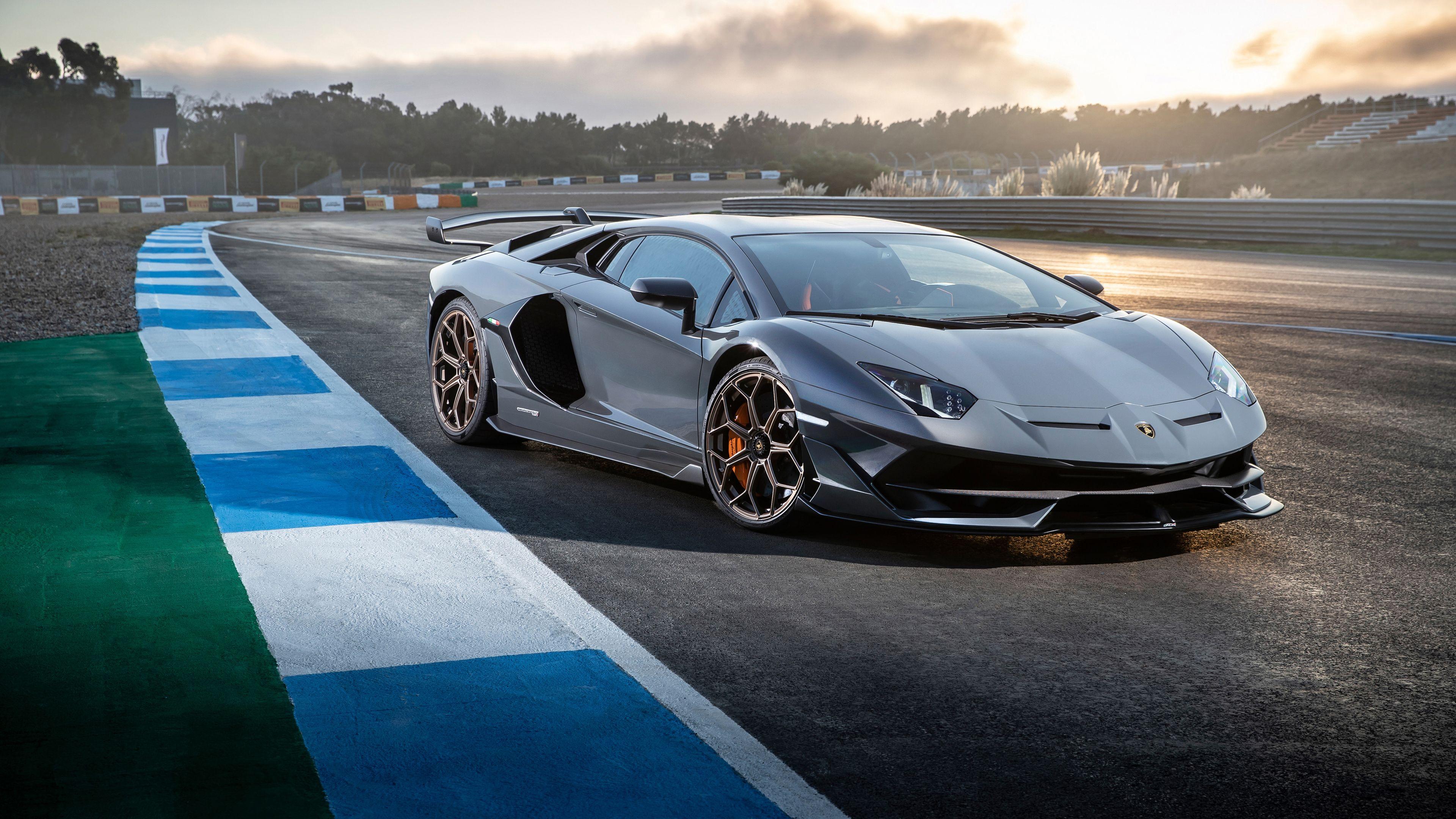 Wallpaper 4k Lamborghini Aventador Svj 2019 4k 2018 Cars